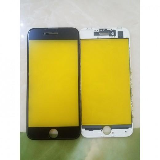 Kính liền ron iphone 7 galaty vàng