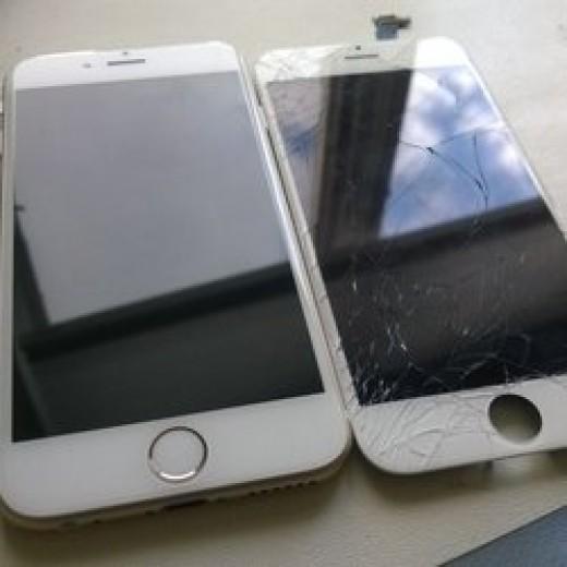 Màn hình iPhone 6 Bể kính